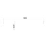 2021019 - Single bar 1800 mm korte flens - 2